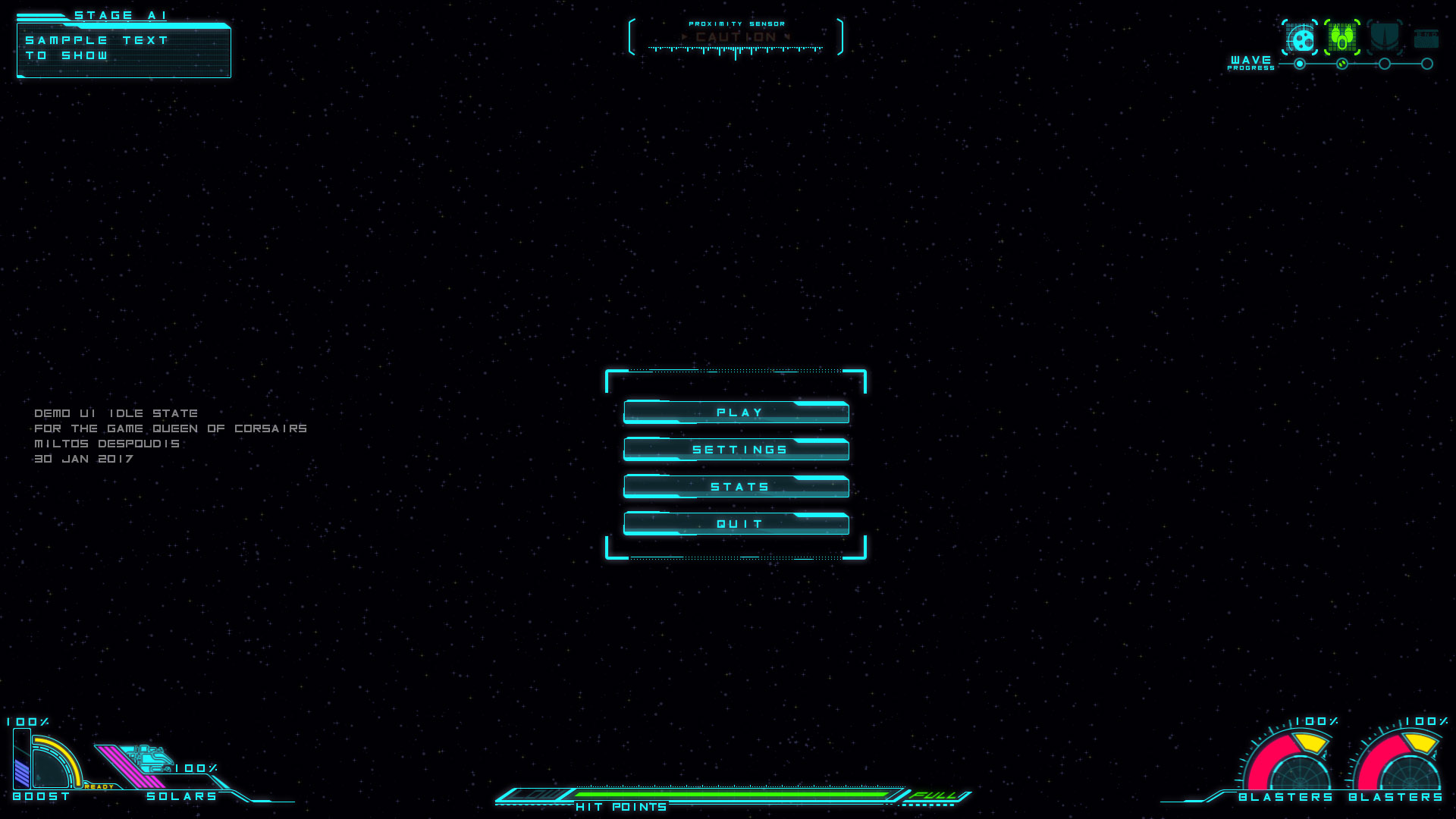 Demo UI QoC