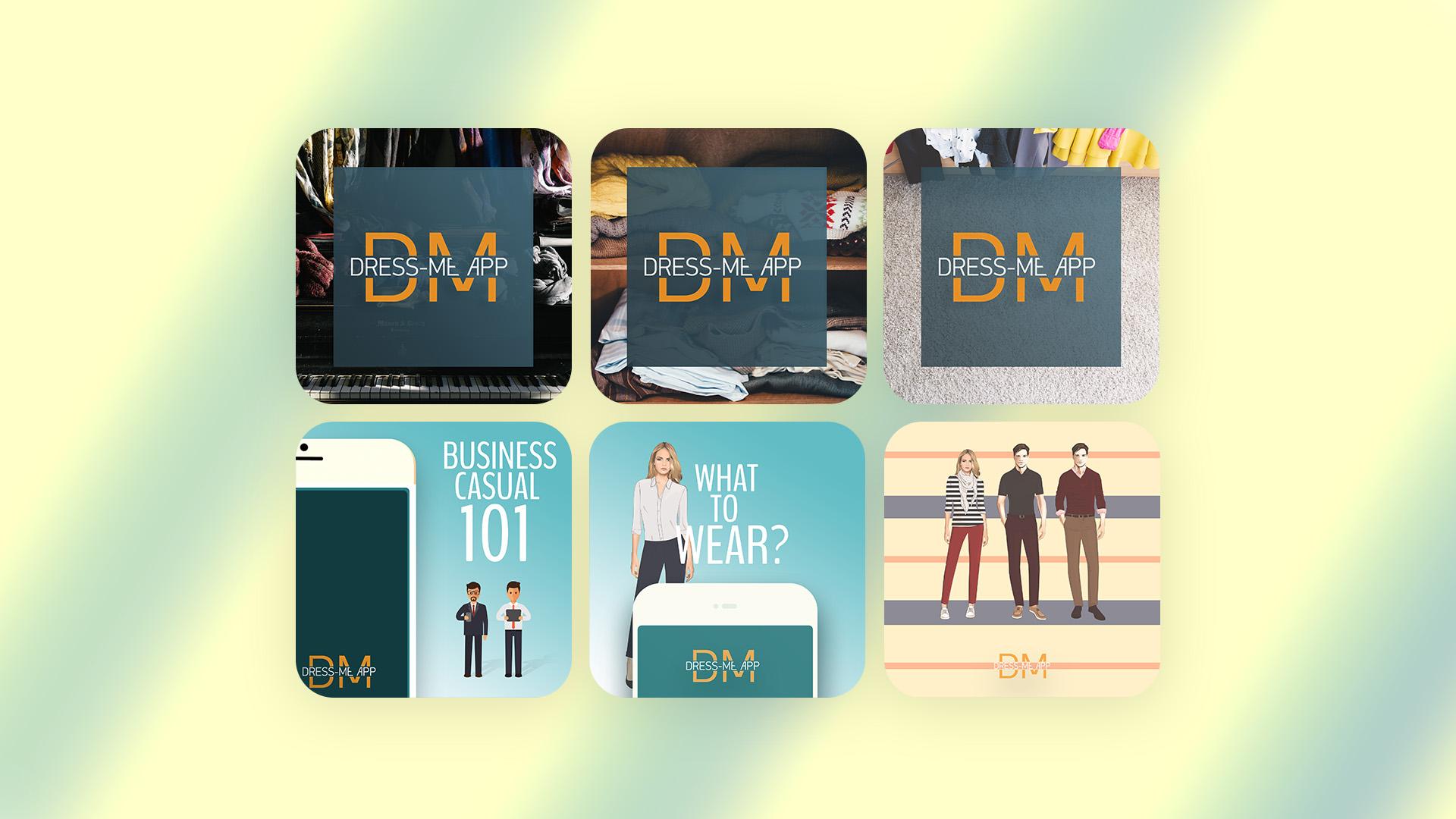 DressMeUp Promo Images