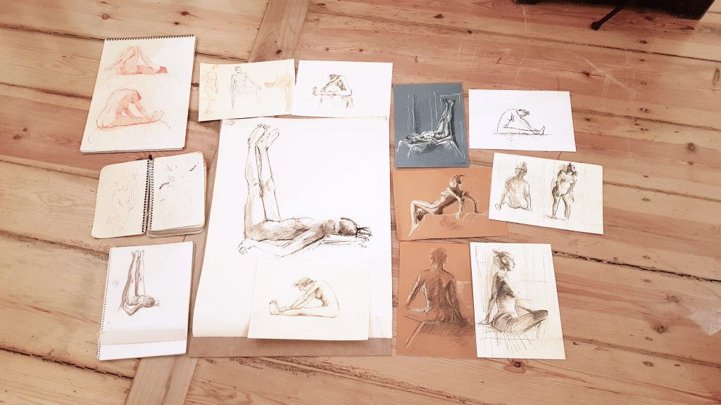 Life Drawing sessions and more | MILTOS DESPOUDIS